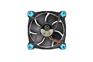 FAN COOLER THERMAL RIING 12 LED BLUE RADIATOR 3 PACK GTIA - Exxa Store