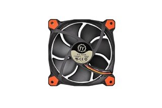 FAN COOLER THERMAL RIING 12 LED RED RADIATOR 3 PACK GTIA - Exxa Store