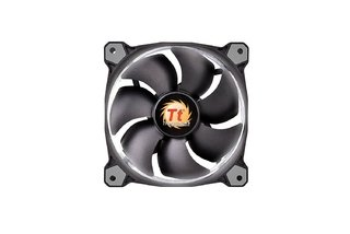 FAN COOLER THERMAL RIING 12 LED WHITE RADIATOR 3 PACK GTIA - tienda online