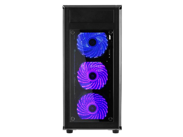 GABINETE RAIDMAX ALPHA PRIME A15 BLACK FAN 120 LED Y CONTROL en internet
