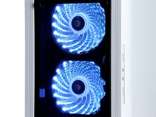 GABINETE RAIDMAX ALPHA PRIME A15 WHITE FAN 120 LED Y CONTROL en internet