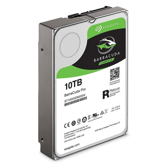 DISCO RIGIDO 10TB 7200 SATA 256MB SEAGATE BARRACUDA PRO