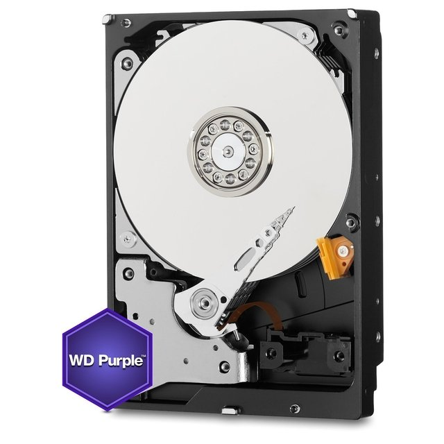 DISCO RIGIDO 4TB 5400 SATA3 WD PURPLE SURVEILLANCE 64MB en internet
