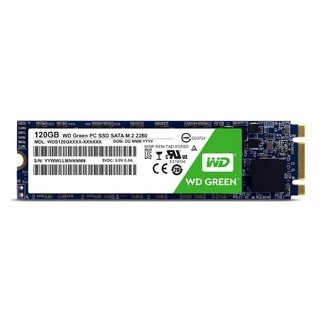 DISCO RIGIDO SOLIDO SSD M.2 120GB WD GREEN SATA III INTERNAL - Exxa Store