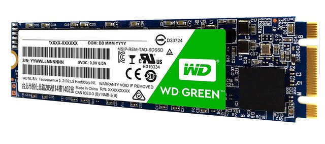 DISCO RIGIDO SOLIDO SSD M.2 120GB WD GREEN SATA III INTERNAL en internet