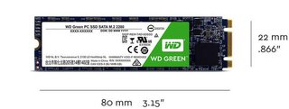 DISCO RIGIDO SOLIDO SSD M.2 120GB WD GREEN SATA III INTERNAL - comprar online