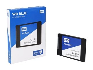 DISCO SOLIDO SSD 500GB WD BLUE SATA III INTERNAL
