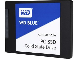 DISCO SOLIDO SSD 500GB WD BLUE SATA III INTERNAL - comprar online