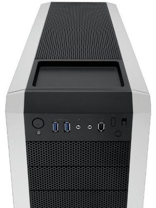 GABINETE CORSAIR CARBIDE 500R WHITE MIDTOWER FAN 3X120 1X200 en internet