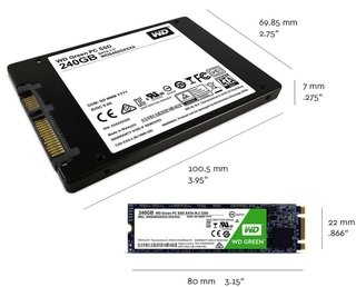 DISCO RIGIDO SOLIDO SSD M.2 240GB WD GREEN SATA III INTERNAL - tienda online