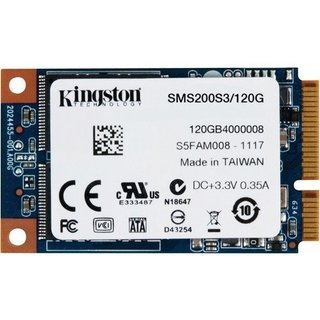 DISCO RIGIDO SOLIDO SSD KINGSTON S200 MINI MSATA 120G - tienda online