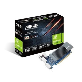 PLACA DE VIDEO ASUS GFORCE GT 710 2GB GDDR5 GFSL-2GD5