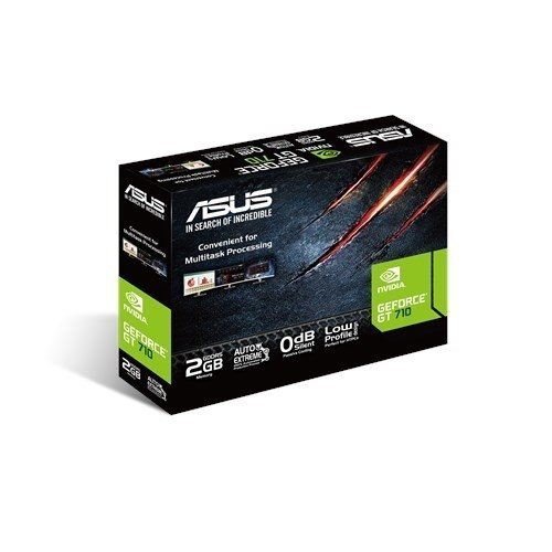 PLACA DE VIDEO ASUS GFORCE GT 710 2GB GDDR5 GFSL-2GD5 - tienda online