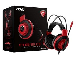 AURICULARES MSI DS501 MICROFONO GAMER HEADSET