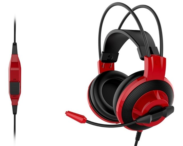 AURICULARES MSI DS501 MICROFONO GAMER HEADSET - Exxa Store