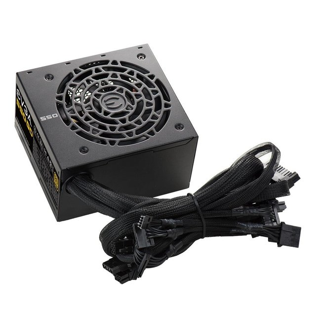 FUENTE PC EVGA 550W GD 80 PLUS - comprar online