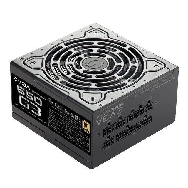 FUENTE PC EVGA SUPERNOVA 650W G3 80 PLUS en internet