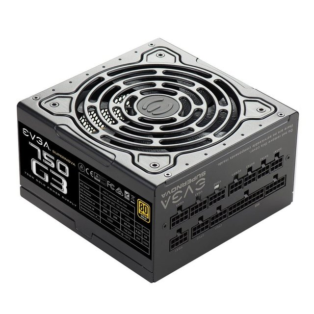 FUENTE PC EVGA SUPERNOVA 750W G3 80 PLUS en internet
