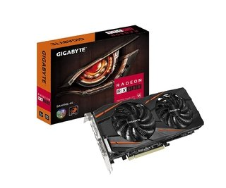 PLACA DE VIDEO GIGABYTE RX 580 GAMING 4GB GDDR5
