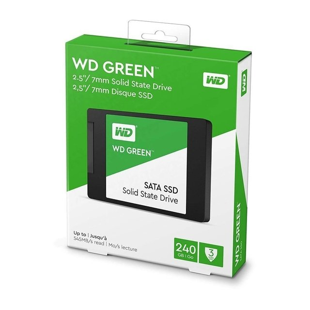 DISCO RIGIDO SSD 240GB WD GREEN SATA 3D 2.5 INTERNAL - Exxa Store