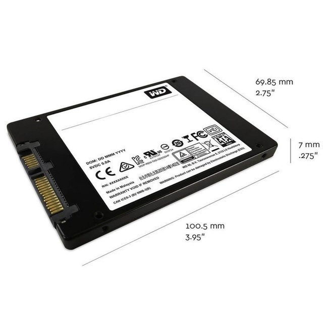 DISCO RIGIDO SSD 240GB WD GREEN SATA 3D 2.5 INTERNAL - tienda online