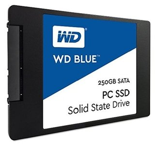 DISCO RIGIDO SSD 250GB WD BLUE SATA III INTERNAL - comprar online