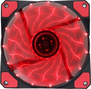 FAN COOLER GAMEMAX PARA GABINETE 120MM RED 15 LEDS