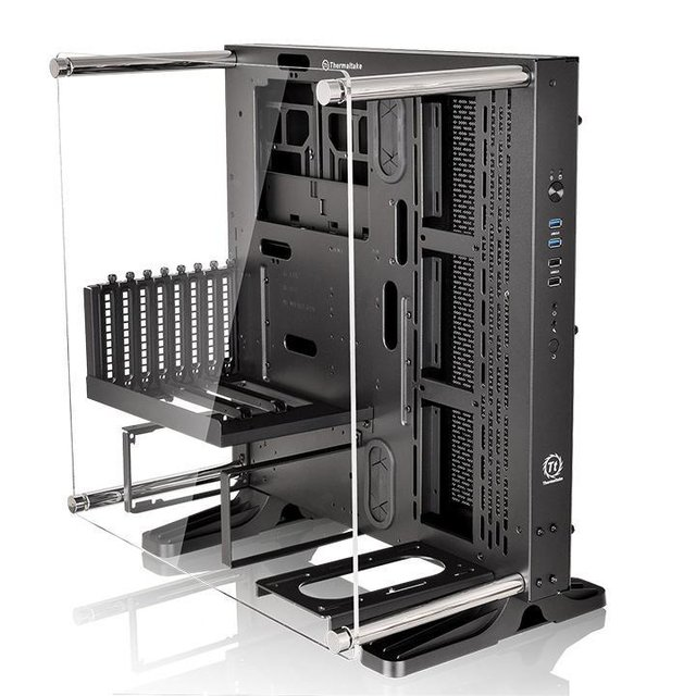 GABINETE THERMALTAKE CORE P3 BLACK EDITION MIDTOWER - Exxa Store