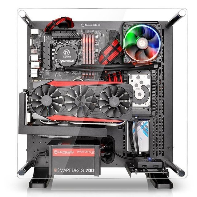 GABINETE THERMALTAKE CORE P3 BLACK EDITION MIDTOWER - tienda online