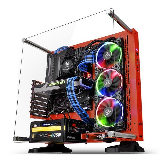 GABINETE THERMALTAKE CORE P3 RED EDITION MIDTOWER en internet