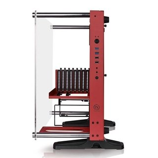 GABINETE THERMALTAKE CORE P3 RED EDITION MIDTOWER - Exxa Store