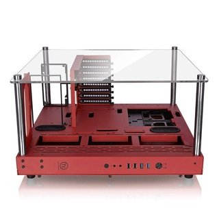 GABINETE THERMALTAKE CORE P3 RED EDITION MIDTOWER - tienda online