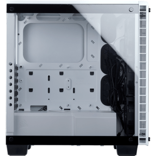 GABINETE CORSAIR CRYSTAL 460X RGB WHITE FAN X2 MIDTOWER en internet