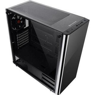 GABINETE THERMALTAKE V200 TG BLACK MIDTOWER FAN 120MM - comprar online