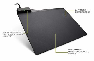 MOUSE PAD CORSAIR MM1000 QI WIRELESS CHARGING - comprar online
