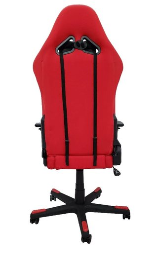 SILLA GAMER DX-RACER RACING SERIES NEGRA CON ROJO en internet