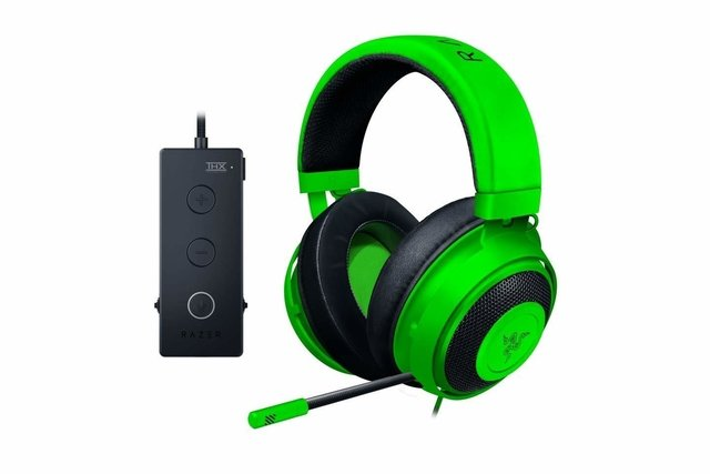 AURICULAR RAZER KRAKEN TOURNAMENT EDITION WIRED GREEN C/MIC