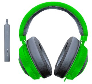 AURICULAR RAZER KRAKEN TOURNAMENT EDITION WIRED GREEN C/MIC - Exxa Store
