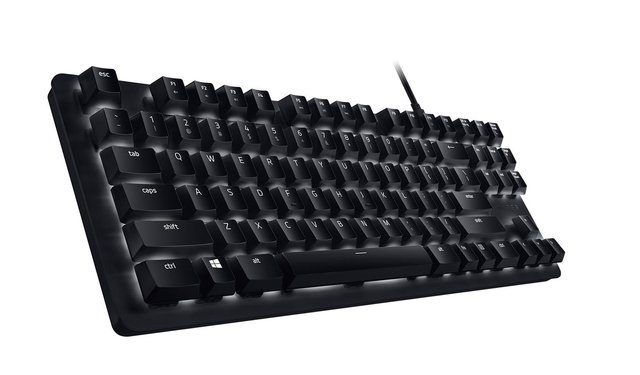 TECLADO RAZER BLACKWIDOW LITE SILENT GAMING MECANICO ORANGE - comprar online
