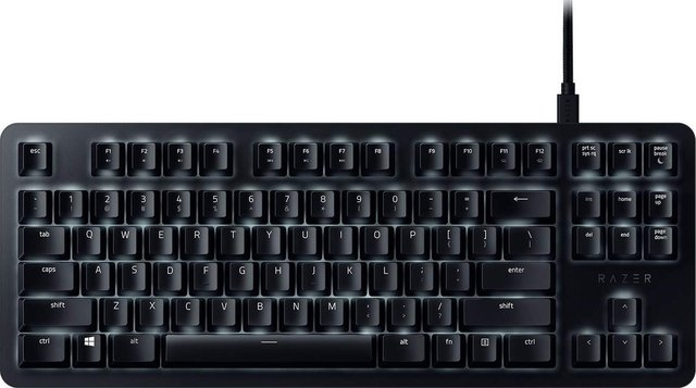 TECLADO RAZER BLACKWIDOW LITE SILENT GAMING MECANICO ORANGE en internet