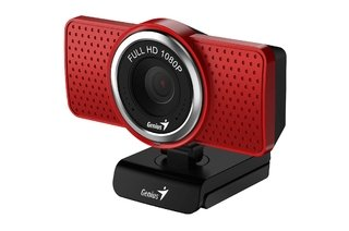 WEBCAM GENIUS S RS ECAM 8000 1080P MICROFONO DIGITAL ROJA