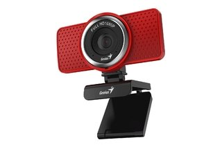WEBCAM GENIUS S RS ECAM 8000 1080P MICROFONO DIGITAL ROJA en internet