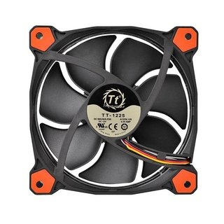 Imagen de FAN COOLER THERMALTAKE RIING 12 LED RED RADIATOR