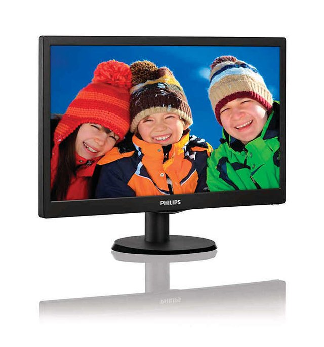 Imagen de MONITOR LED 19 PHILIPS WIDESCREEN 16:9 1366X768 5MS VGA HDMI