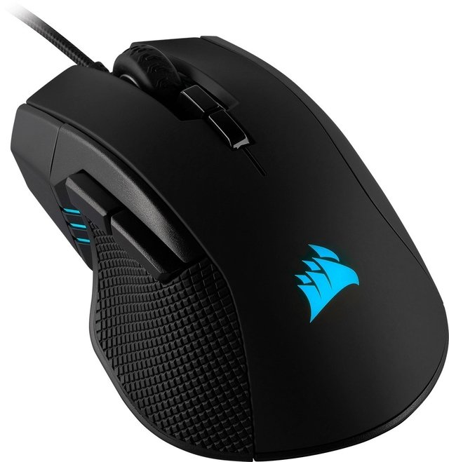 MOUSE CORSAIR IRONCLAW RGB FPS MOBA 18.000 DPI 105GR - Exxa Store