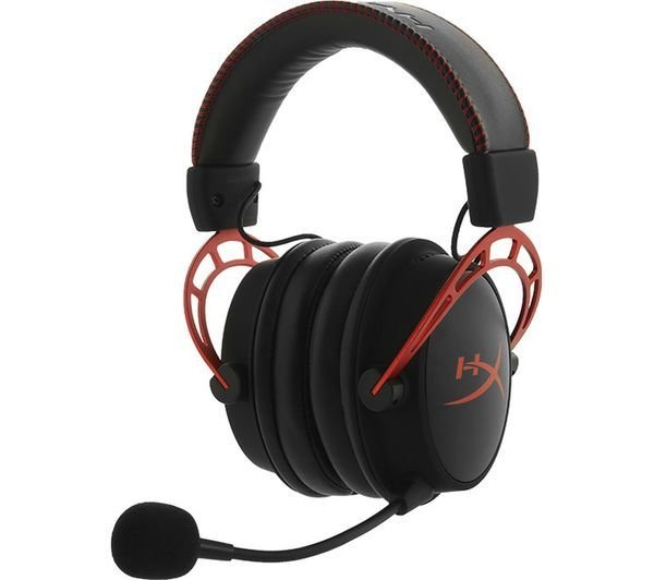 AURICULARES HYPERX CLOUD ALPHA GAMING RED PC PS4 XBOX ONE - Exxa Store