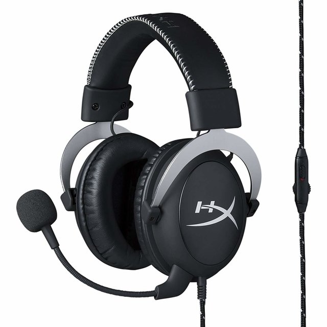 AURICULARES HYPERX CLOUD SILVER PC PS4 XBOX ONE WII CELULAR - Exxa Store