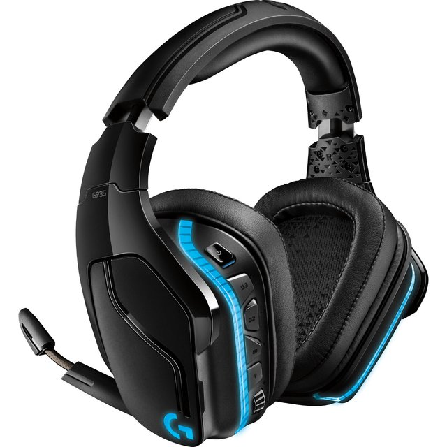 AURICULARES LOGITECH G935 LIGHTSYNC WIRELESS 7.1 PC PS4 XBOX