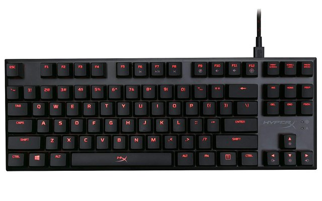 TECLADO HYPERX ALLOY FPS PRO MECANICO GAMING CHERRY MX RED