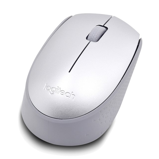 MOUSE LOGITECH M170 WIRELESS SILVER BLISTER 10MTS 910-005334 - Exxa Store